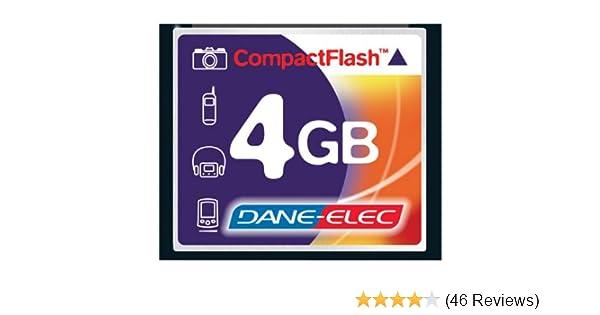 Dane-Elec D70 Digital Camera Memory Card 4GB CompactFlash Memory Card