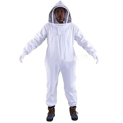Oulii - Buzo de protección con careta para apicultores ...