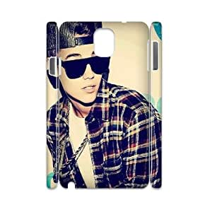 T-TGL(RQ) Customized New Printed Phone Case for Samsung galaxy Note 3 N9000 3D diy Justin Bieber case