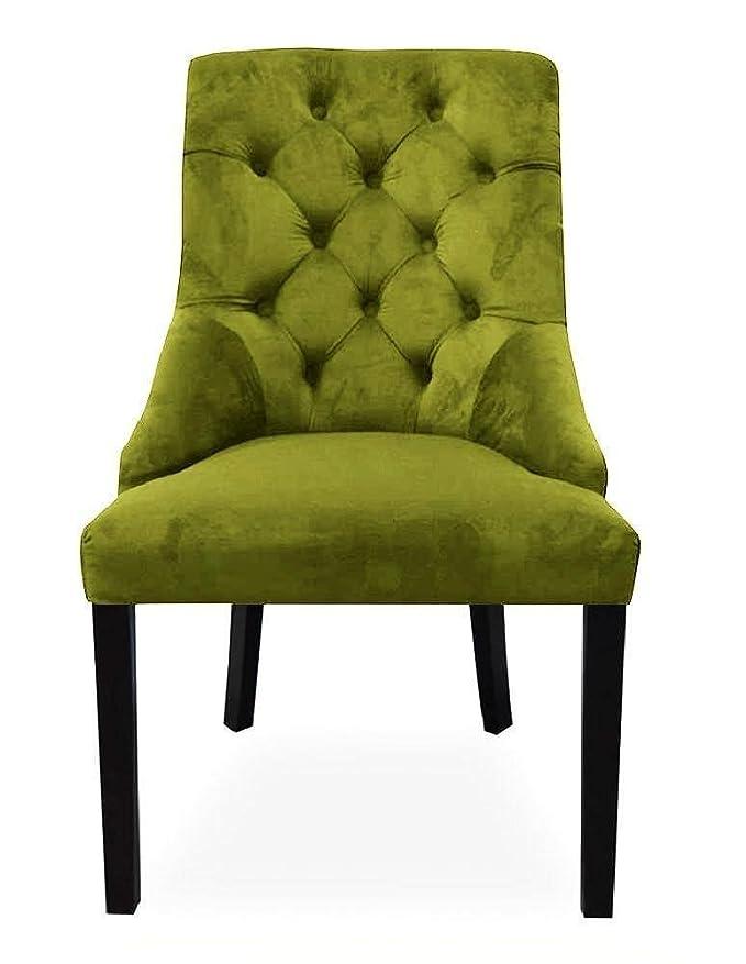 Belle Fierté Un par de sillas de Comedor de Terciopelo con Anilla ...