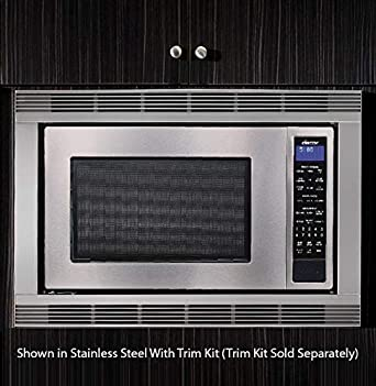 dacor dmw2420s distinctive series counter top or built microwave stainless