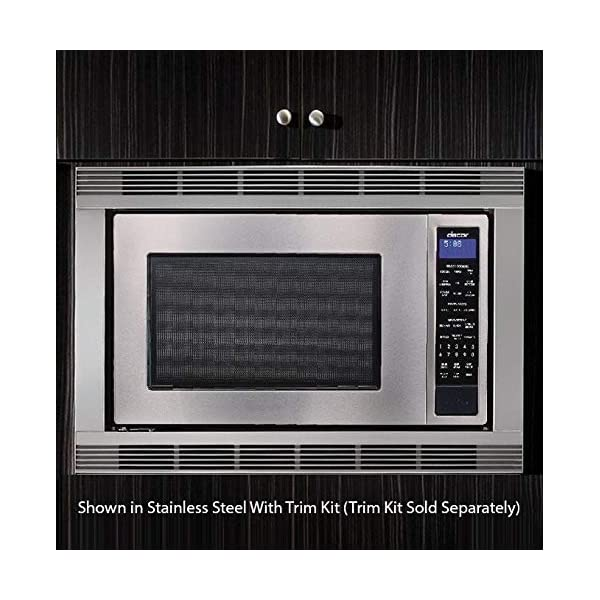 Dacor DMW2420S Distinctive Series Counter Top or Built Microwave, Stainless 4