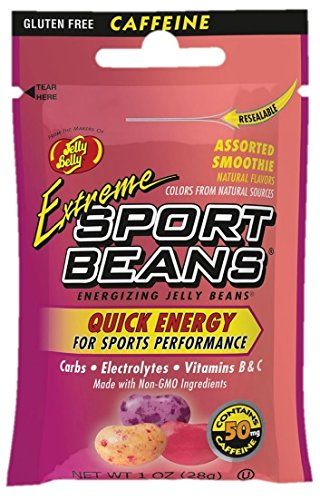 Jelly Belly Extreme Sport Beans, Caffeinated Jelly Beans, Sm