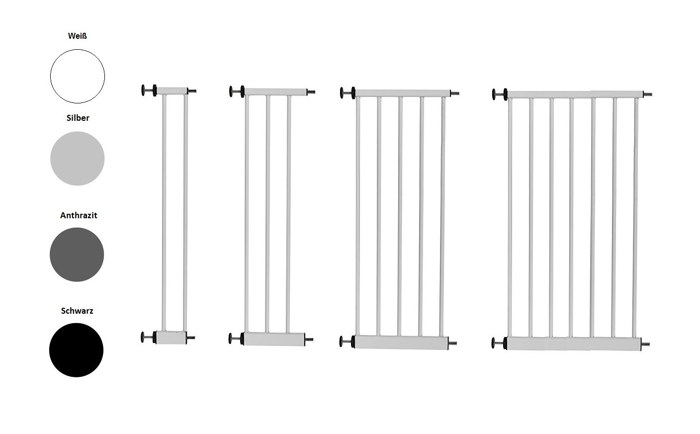 Original IMPAG® Zubehör Verbreiterung 77 cm hoch | Für Türschutzgitter und Treppenschutzgitter | Erweiterung | 10 | 20 | 30 | 40 | 50 | 60 | 70 cm Breite | Sicherheitsgeprüft EN 1930:2011 Impag GmbH