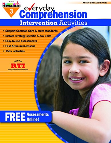 - Everyday Intervention Activities for Comprehension Grade 3 (Eia)