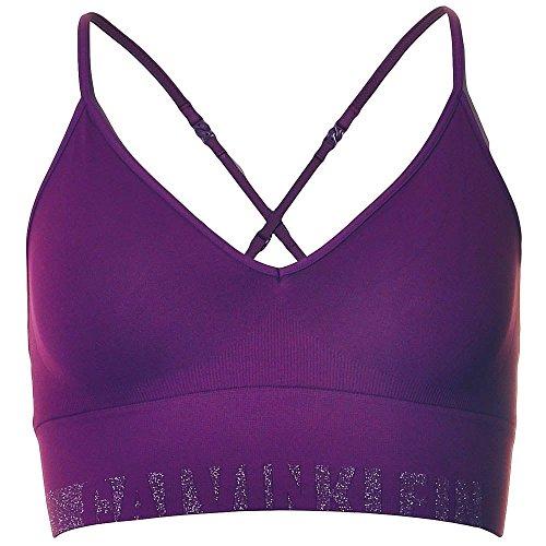 Les gorge Klein Purple Femme Violet Logo Jours Calvin Soutien De Silver Tous Lurex qHXxEAApw