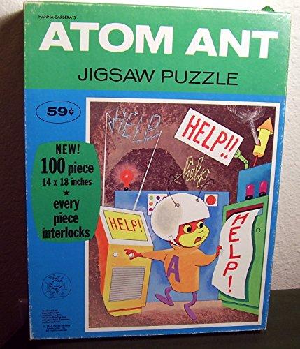 Whitman Atom Ant 1967 100 Piece Jigsaw Puzzle