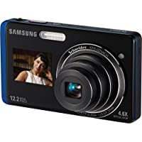 Samsung TL220 12.2MP Dig Camera 4.6X Opt 3 In LCD Blue Basic Intro Review Image