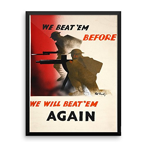 vintage-poster-we-will-beat-them-premium-luster-photo-paper-framed-poster-18x24