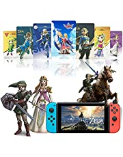 25PCS NFC Tags Amibo Cards for The Legend of Zld: Skyward Sword HD Including Zld & Loftwing Links Awakening Compatible with Switch/Lite Wii U