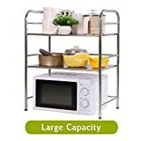 Cheap Rhilon Bakers Rack Kitchen Shelving Unit Microwave Stand Shelves Oven Rack