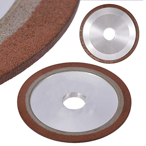 1 piece 4 150 Grit Diamond Grinding Wheel Grinding Disc Saw Blade Resin Diamond Grinding Wheel for Rotary Abrasive -