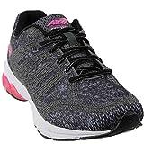 AVIA Women's Avi-Versa Sneaker, Iron Grey/Black/Pink Energy, 7.5 Medium US