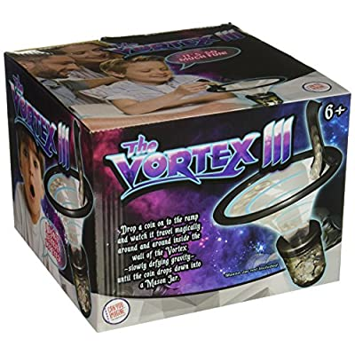 Can You Imagine Vortex III Bank, Black: Toys & Games