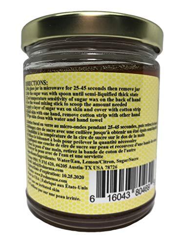Gentle Bees Body Hair Remover Pro - Sugar Wax Kit 11 Ounces (311 85g)  Brazilian Wax and Bikini Wax