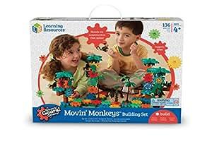 Learning Resources Gears Movin' Monkeys