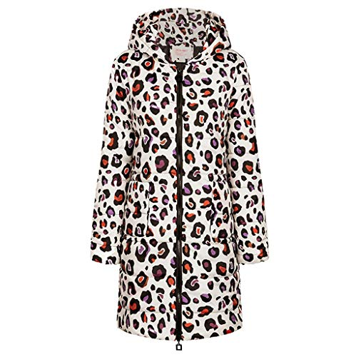 aihihe Womens Winter Long Down Coats Jackets Plus Size Warm Parka Print Full Zip Hooded Trench Coats Outwear White
