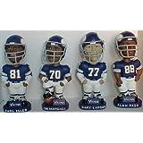 Minnesota Vikings Purple People Eaters Bobblehead Set (Includes Carl Eller, Jim Marshall, Alan Page, and Gary Larsen)