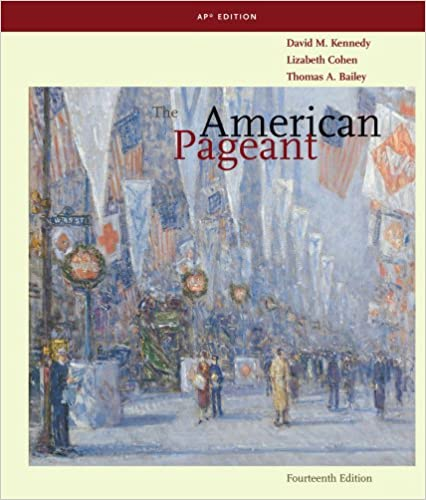 Amazon. Com: the american pageant: a history of the american people.