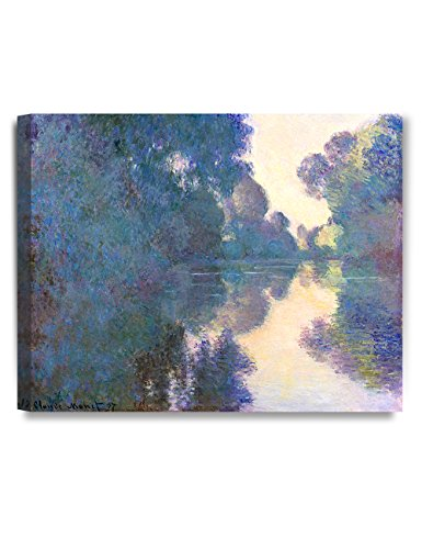 DecorArts Morning Giverny Claude Reproduction