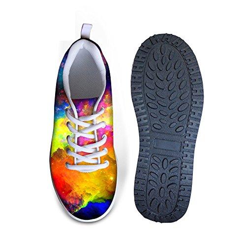 Ups Sneakers Colorful Colorful Mesh Women Platform HUGSIDEA 9 Shape Fitness Fashion for 4qH0wqgvI