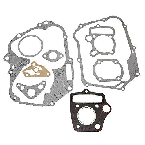 JINGKE Engine Head Cylinder Stator Clutch Intake Gasket Set for Chinese Honda 50 70 90 110cc Horizontal Engine ATV Dirt Bike Go Kart