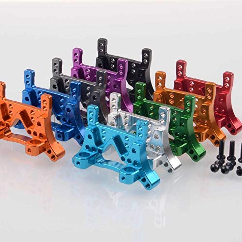 (ShineBear A949-09 Shock Absorber Plate Aluminum Shock Tower A959 A969 A979 - (Color: Purple))