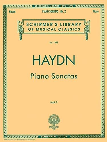 Piano Sonatas - Book 2 Schirmer Library of Classics Volume 1983 Piano Solo (Tapa Blanda)
