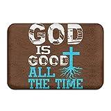 QQQWZH-A God Is Good All The Time Christian ALFOBANA Bath Mat