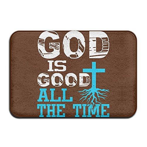 QQQWZH-A God Is Good All The Time Christian ALFOBANA Bath Mat by QQQWZH-A