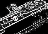 Glory Oboe C Key Cupronickel Plated Silver Woodwind