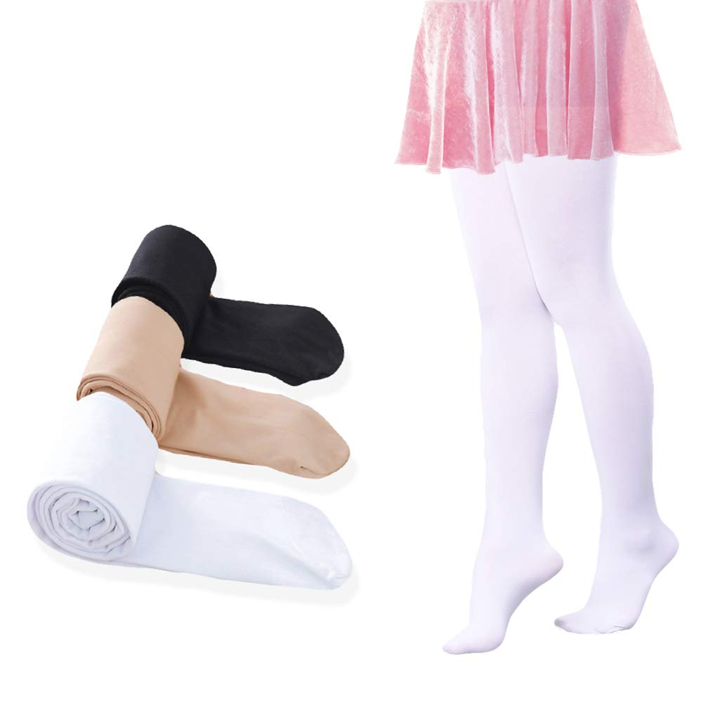 WENDYWU Girls Ballet Tights Pantyhose Dance Leggings Pants