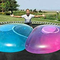 Ginkago Wubble Bubble Ball Toy for Adults Kids Inflatable Water Ball Beach Garden Ball Soft Rubber Ball Outdoor Party