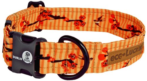 "eco-Lucks Dog Collar, Kimono, Medium 12"" x 20"""