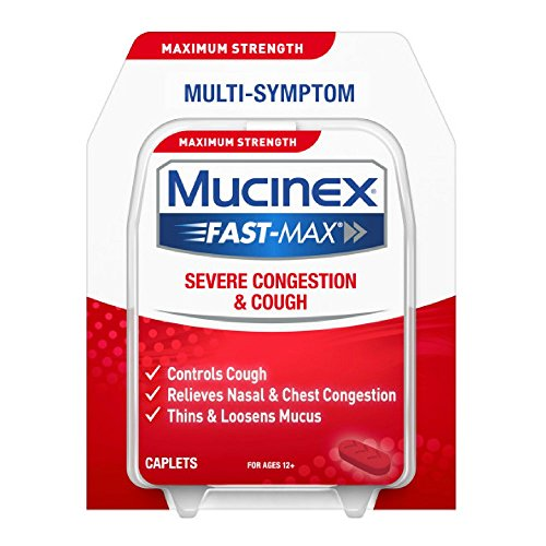 Mucinex Fast-Max Severe Congestion & Cough Caplets, 20ct by Mucinex