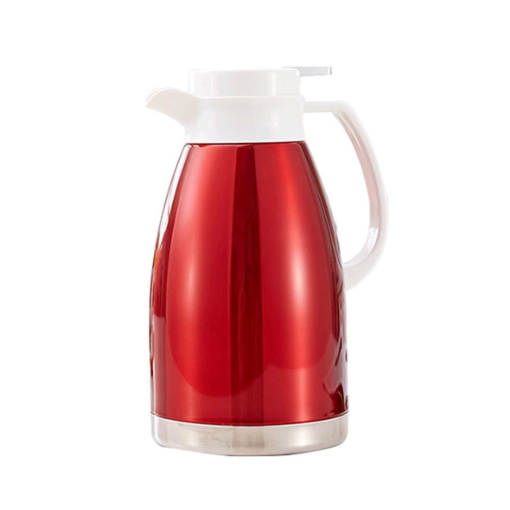 FYCZ 2L Vakuum Krug, 304 Edelstahl Doppelwand Isolierte Kaffeekanne Kaffee Kolben Saft Milch Tee Isolierung Topf 68Oz