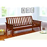 Coaster Traditional Dirty Oak Futon Frame