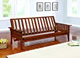 Coaster Home Furnishings 4382 Traditional Futon Frame, Oak