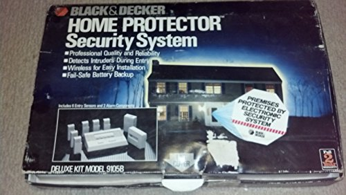 (Black & Decker Home Protector Security System 9105B)