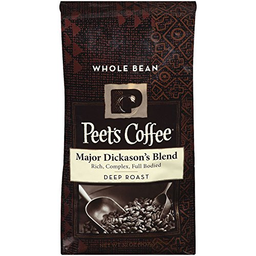 Peet's Coffee Major Dickason's Blend Poseidon's kingdom Roast, Whole Bean (32 oz.)
