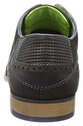 Bugatti 311101103500, Zapatos de Cordones Derby para Hombre Negro (Schwarz 1000)