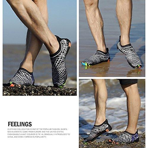 Scoglio da Scarpe Traspirante C4 Scarpe Materiale Yoga Bambini Elastico da Scarpette Ballo jianhui Donna Bagno Unisex Spiaggia Antiscivolo da Uomini Immersione qwXxRIaB