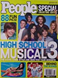 PEOPLE Special Collectors Edition [ November 2008 ] High School Musical 3 (The stars, their style and how they said goodbye, Zac Efron,Vanessa Hudgens, Corbin Bleu, Ashley Tisdale, Monique Coleman, Lucas Grabeel)