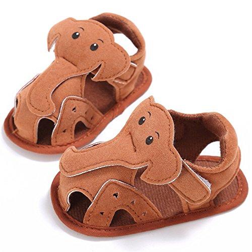 Pueri Sandalias Niños Zapatos Bebés Sandalias Verano Zapatos Primer Paso Marrón