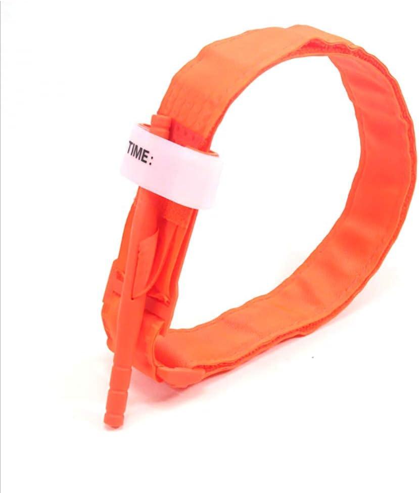 naranja Hemostasia giratoria de una mano de hemostasia t/áctica de emergencia