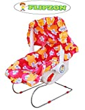 Flipzon Multipurpose 9 in 1 Baby Carry Cot/Bouncer with Mosquito Net and Sun Shade