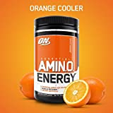 OPTIMUM NUTRITION ESSENTIAL AMINO ENERGY, Orange Cooler, Preworkout and Essential Amino Acids with Green Tea and Green Coffee Extract, 30 Servings Review