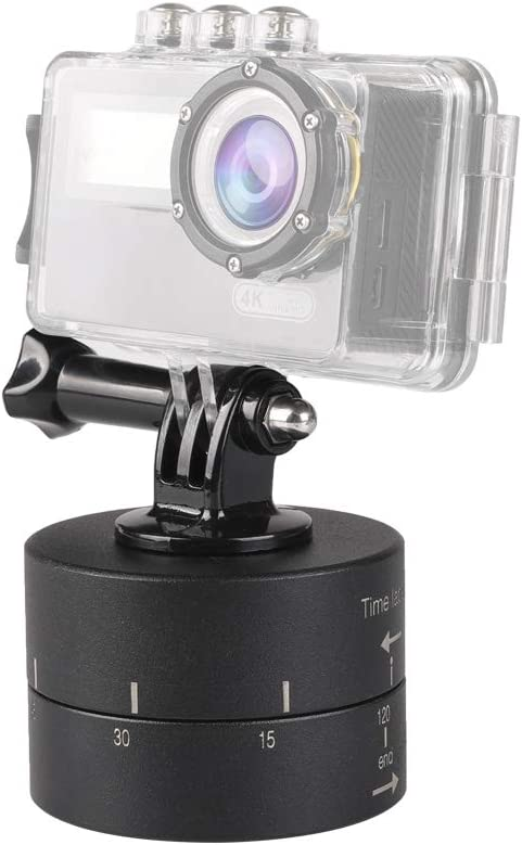 Minyangjie Camera Accessories 120min Auto Rotation Camera Mount for GoPro