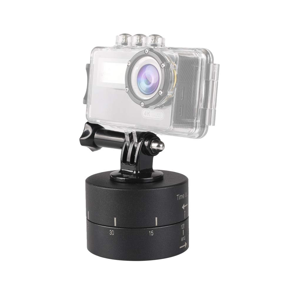 HEGUANGWEI Camera Mount 120min Auto Rotation Camera Mount for GoPro Photography by HEGUANGWEI