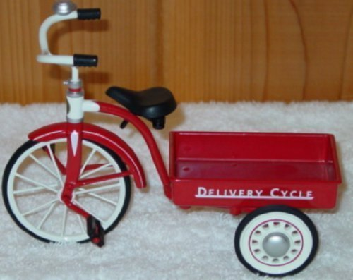 Hallmark Kiddie Car Classics Sidewalk Cruisers 1950 Garton Delivery Cycle QHG6309